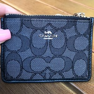 Coach Accessories - NEW! unused black coach keychain.